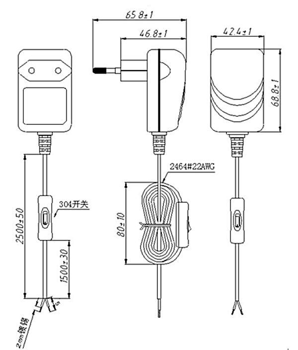 Led Lighting Adaptor 100 240v 50 60hz Ac Adapter 12v 1a Adapter